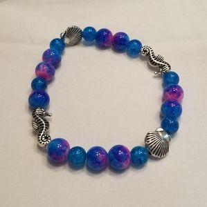 🎉🎉 HP!! 🏝 Men's aqua stretch bracelet